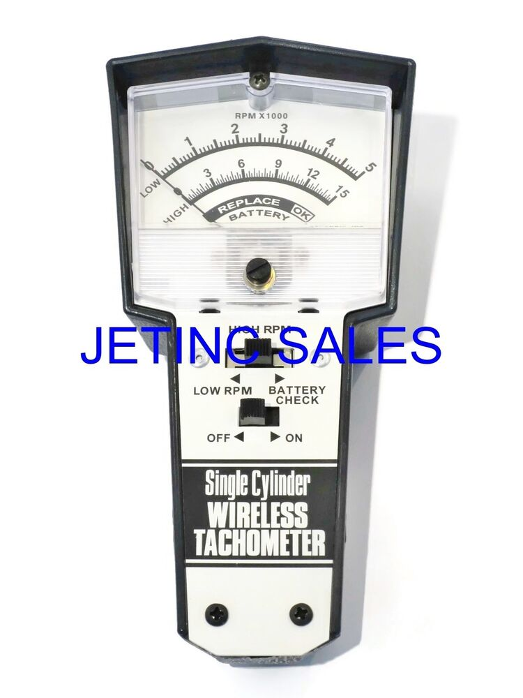 wireless tachometer for 2 4 cycle engines ebay. Black Bedroom Furniture Sets. Home Design Ideas