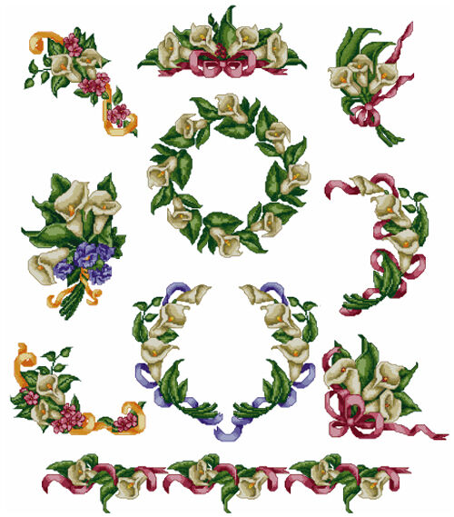 Abc designs calla lilies10 machine embroidery cross stitch for Embroidery office design 7 5 full