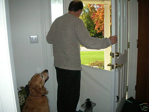 The Pet Barrier Retractable Dog Cat Gate Unique Ebay