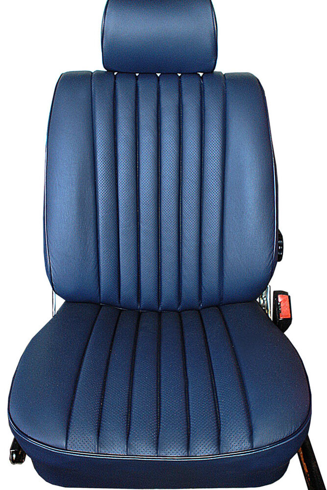 Mercedes seat covers 350sl 450sl 380sl 560sl leather ebay for Seat covers mercedes benz