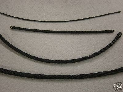 Galvanized Black Rope 3 32 Quot 7x19 Aircraft Cable 500 Ft Tie