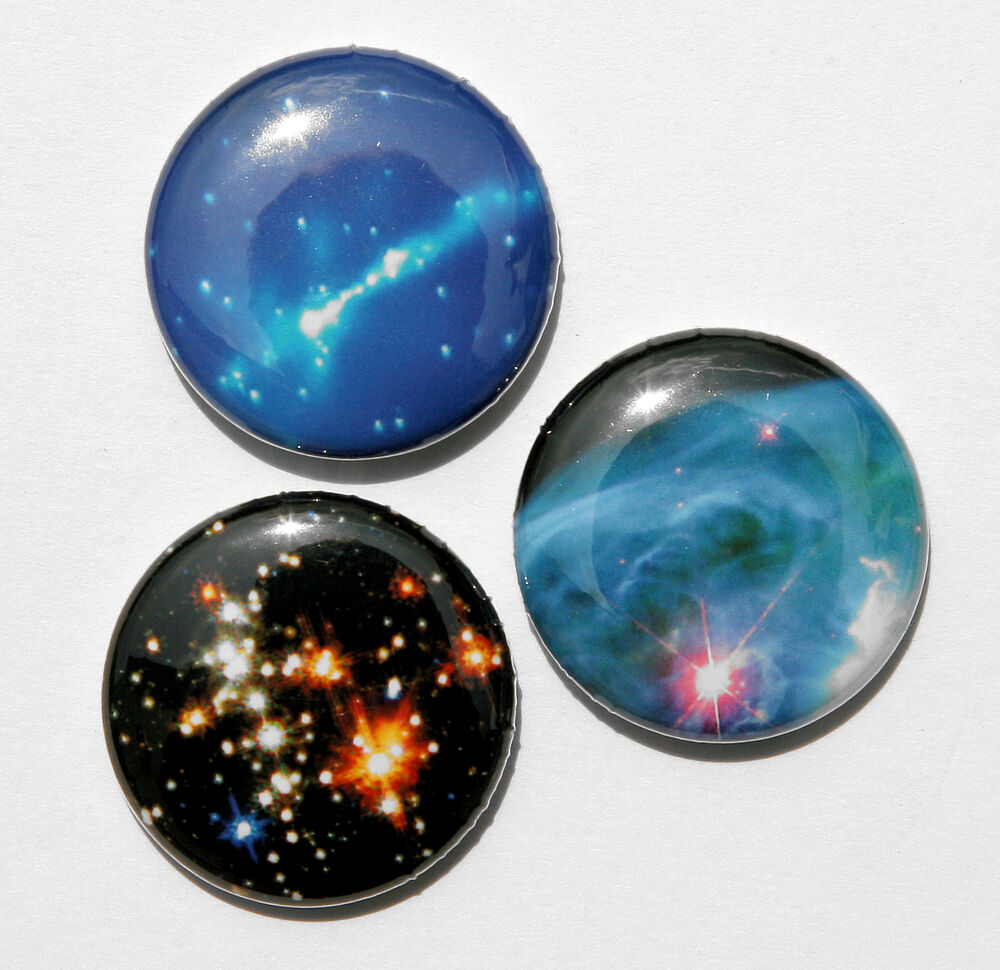 3 outer space buttons pins badges 1 sci fi cosmic ebay. Black Bedroom Furniture Sets. Home Design Ideas