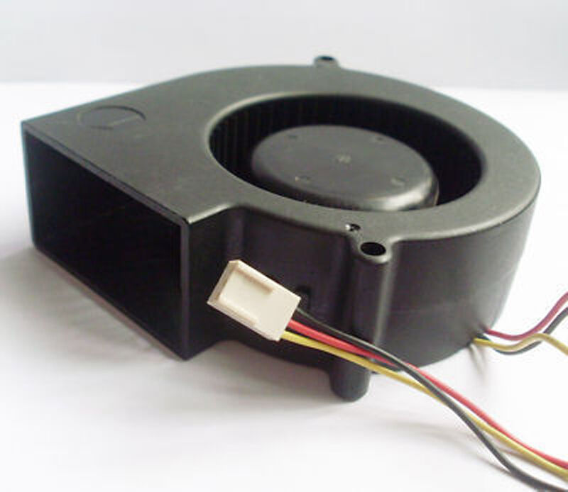 Dc Blower Fan : Dc cooling blower fan mm mmx s v wire ebay