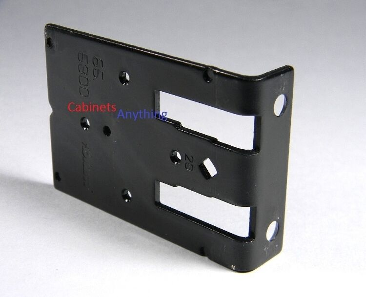 Cabinet drilling template for blum framless plates ebay for Cabinet mounting plate