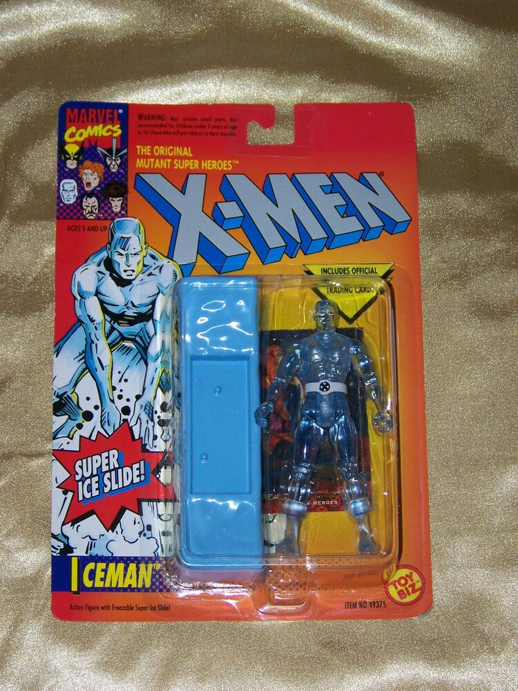 Toys For Cards : Iceman quot figure w super ice slide trading card