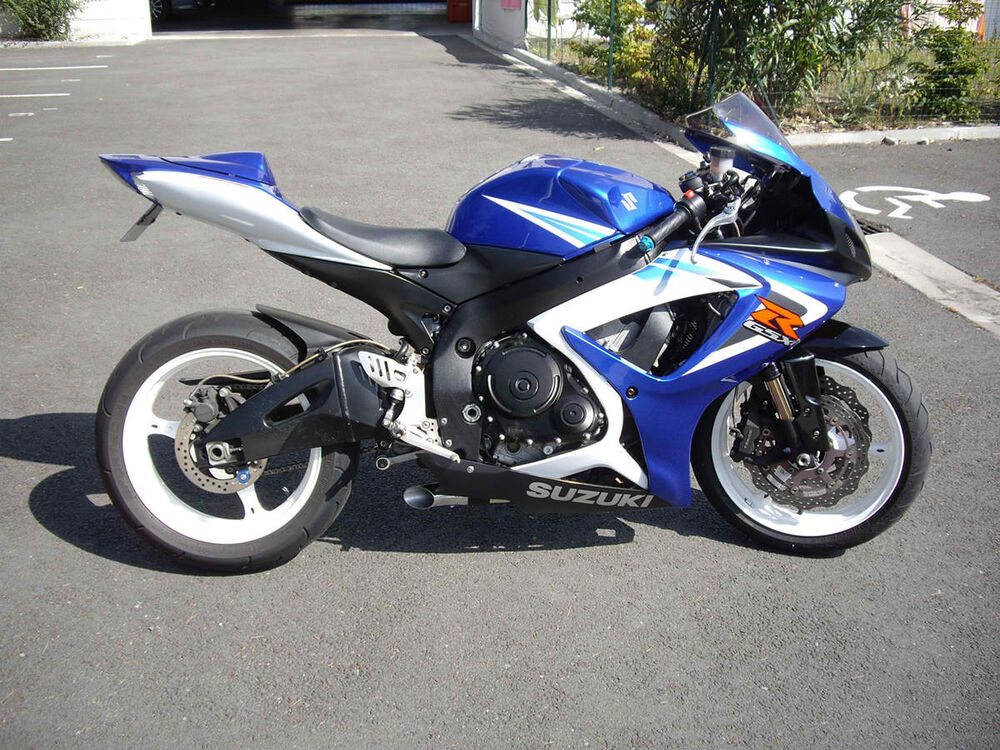 06 07 suzuki gsxr 600 gsxr600 radiant cycles shorty gp exhaust 2006 2007 black ebay. Black Bedroom Furniture Sets. Home Design Ideas