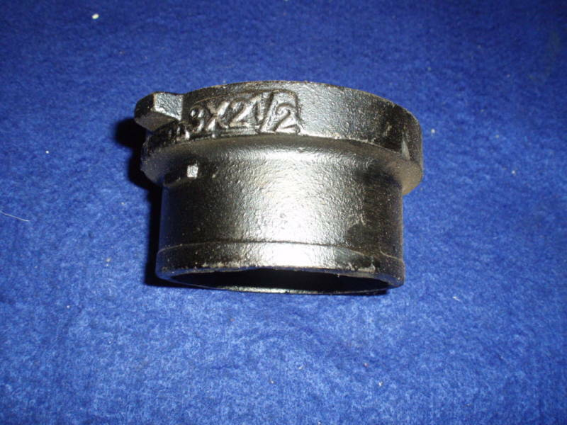 Quot cast iron cleanout adapter nh no