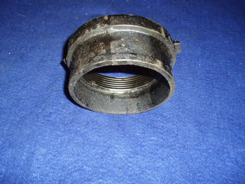 Quot nh cast iron cleanout adapter no hub