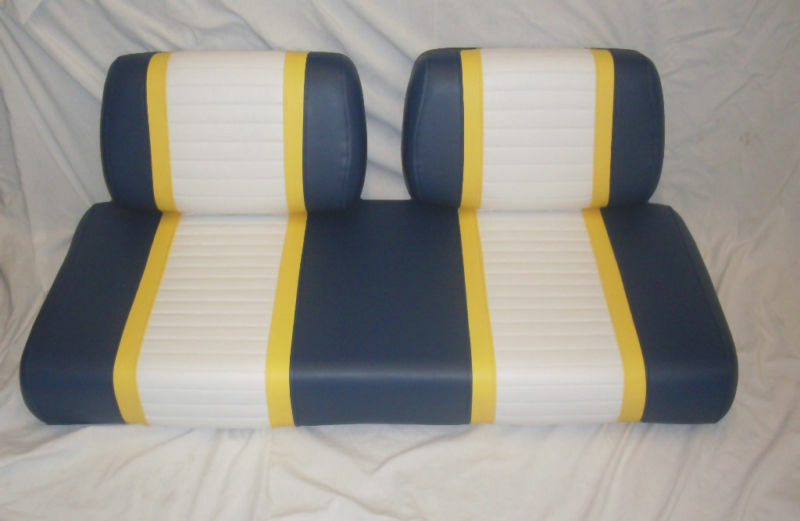 Golf Cart Seat Replacement : Pc club car golf cart replacement seat pre ebay