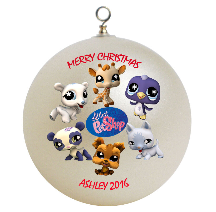 Christmas Ornaments Online Shopping Europe: Personalized Littlest Pet Shop Christmas Ornament Gift