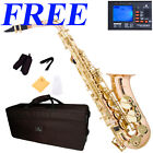 CECILIO AS-380 ALTO SAXOPHONE in Rose Brass & Gold Keys