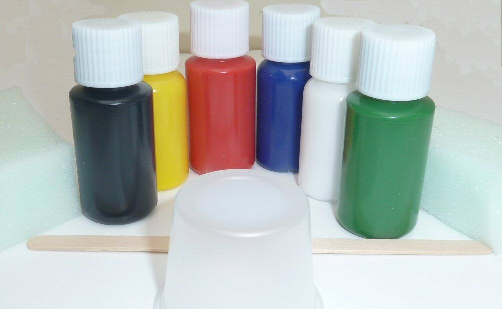 Leather Dye Stain Pigment Paint For Car Bike Sofa Boots Ebay