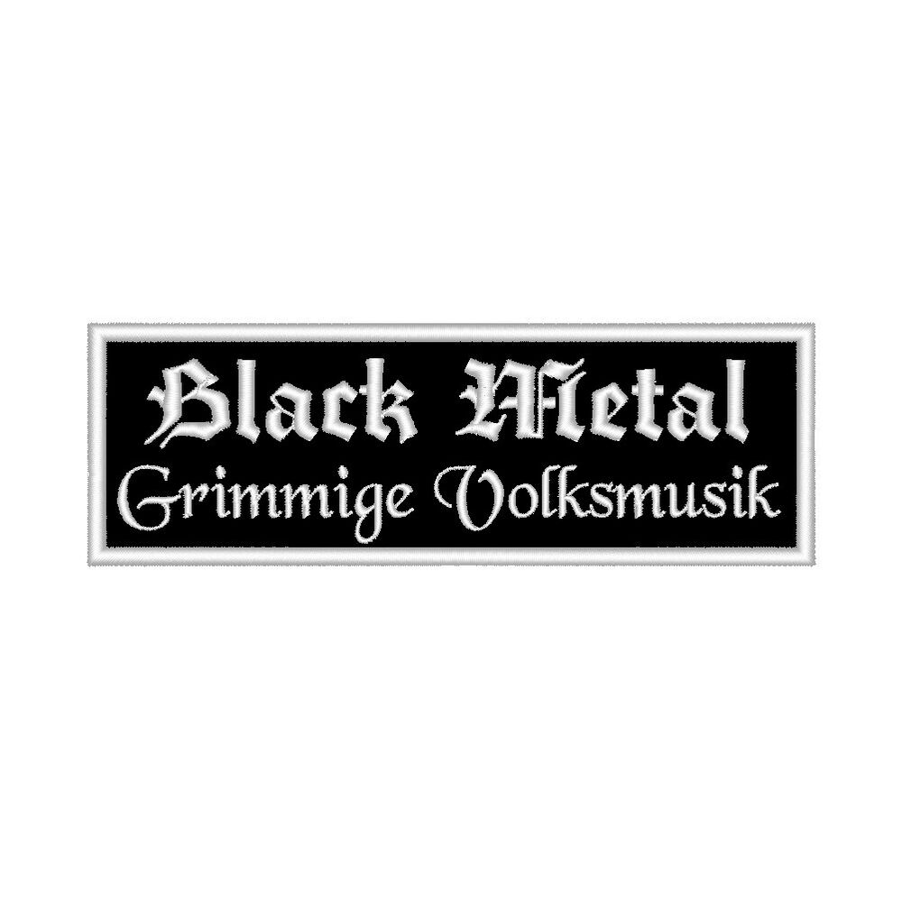 aufn her black metal grimmige volksmusik rec 12x4 gothic. Black Bedroom Furniture Sets. Home Design Ideas
