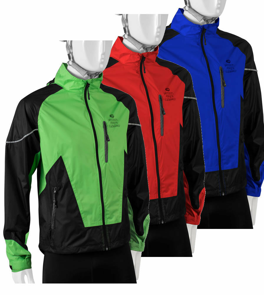 ATD Waterproof Windproof Breathable Cycling Rain Jacket ...