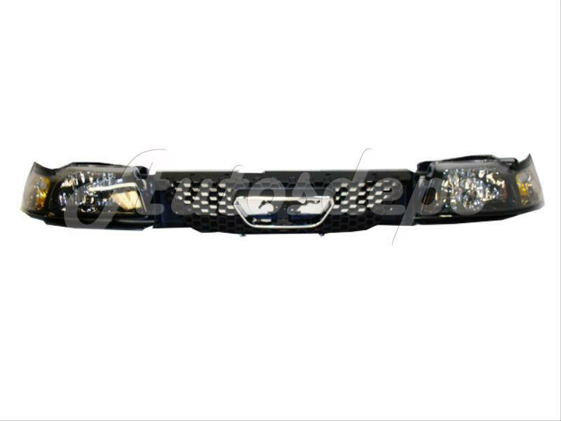 1999 2000 Ford Mustang Gt Grille Nose Panel Headlight 5 Ebay