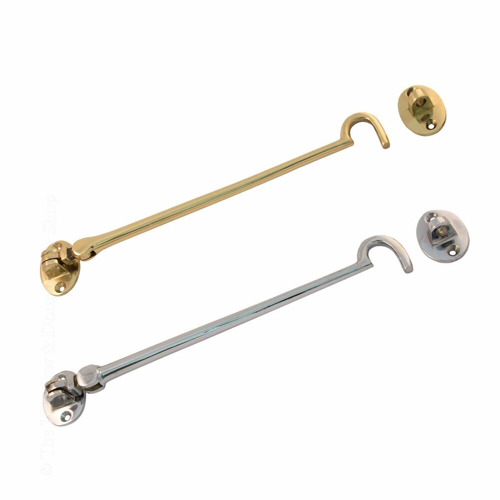 Uap Cabin Hook And Eye Solid Brass Door Lock Latch For