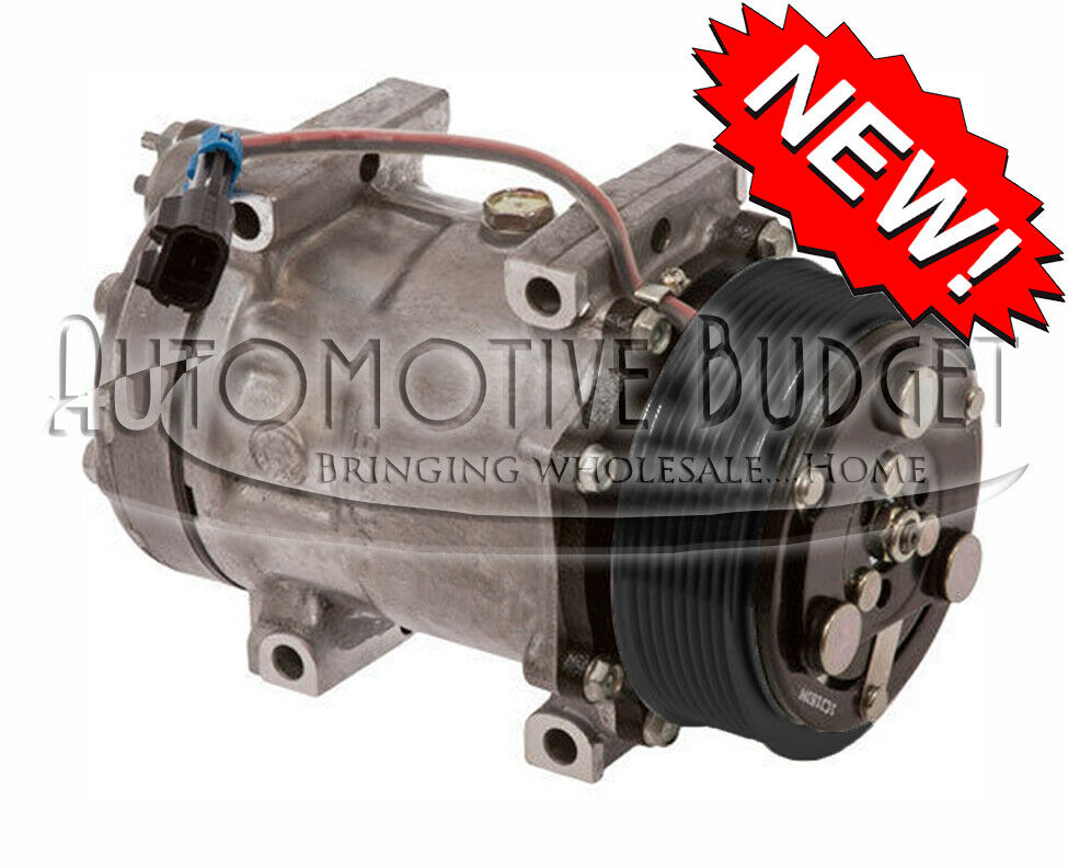 A  C Compressor W  Clutch For Sanden 4816 Ford