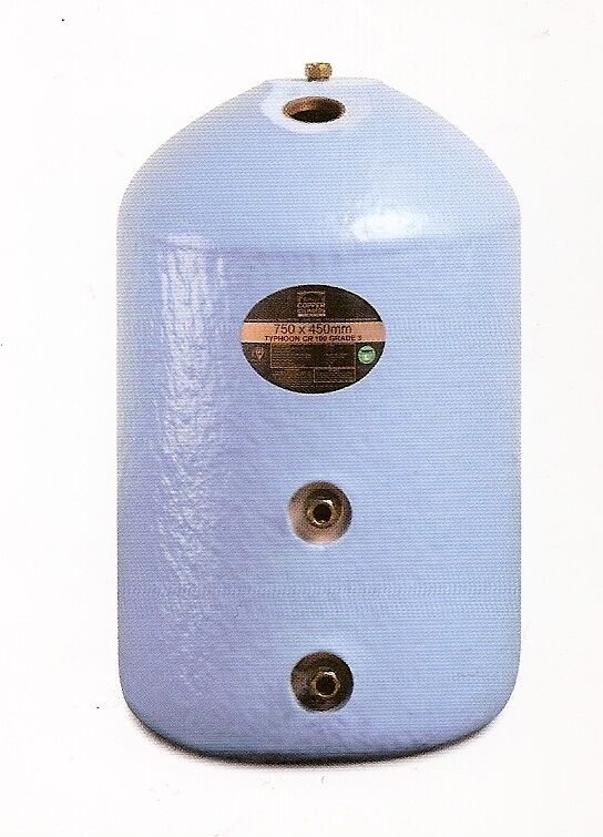 Copper hot water tank s all sizes copper cylinder ebay for Copper hot water tank