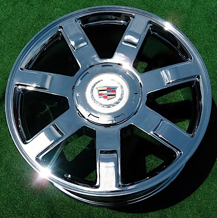 Used Cadillac Escalade Parts For Sale: 1 NEW 2009 Cadillac Escalade Chrome 22 Inch WHEEL OEM Factory Specification 5309
