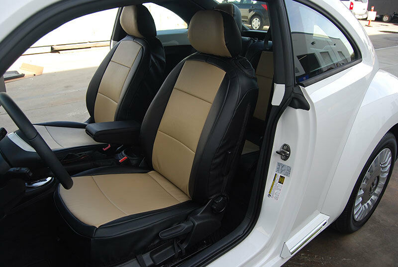Coverking Seat Covers >> VW BEETLE 1959-2010 LEATHER-LIKE CUSTOM FIT SEAT COVER | eBay