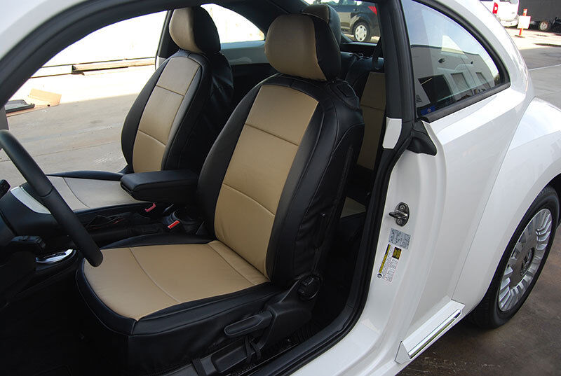 Vw Beetle 1959 2018 Leather Like Custom Fit Seat Cover Ebay