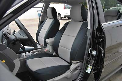 kia optima 2003 2006 leather like custom fit seat cover ebay. Black Bedroom Furniture Sets. Home Design Ideas