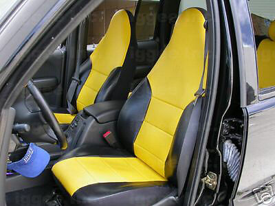 jeep liberty 2002 2008 leather like custom seat cover ebay. Black Bedroom Furniture Sets. Home Design Ideas