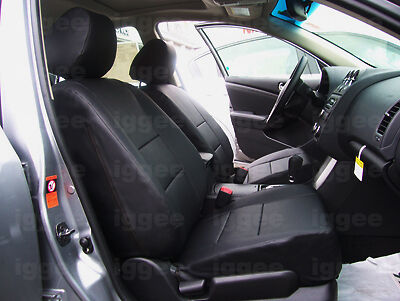 nissan altima 2007 2012 leather like custom seat cover ebay. Black Bedroom Furniture Sets. Home Design Ideas