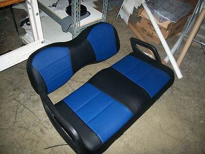Yamaha Golf Cart Leather Like Custom Fit Seat Cover Ebay