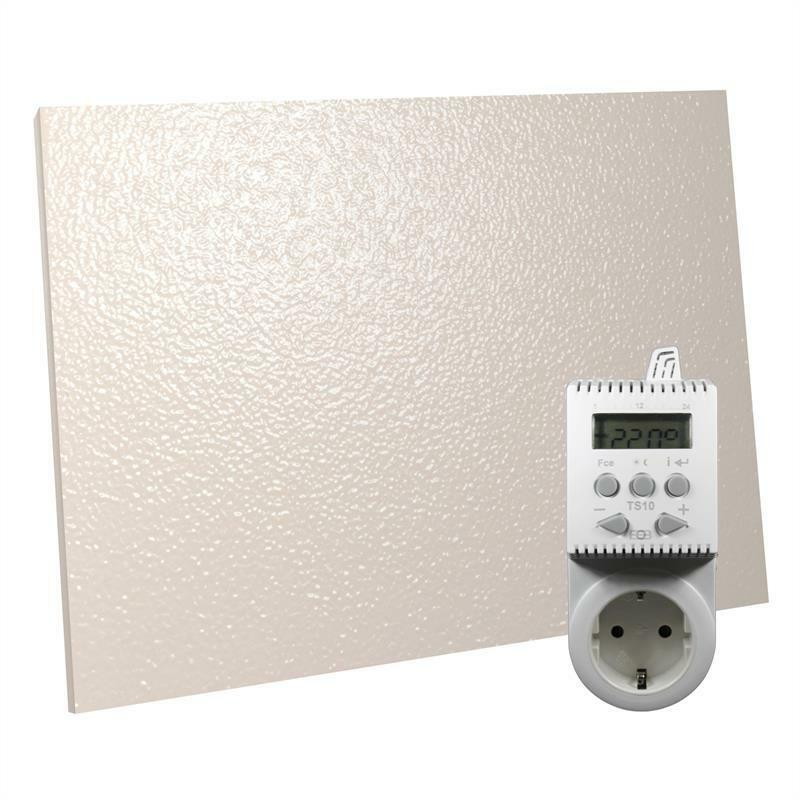 infrarotheizung 900 watt thermostat infrarot heizung ebay. Black Bedroom Furniture Sets. Home Design Ideas