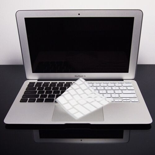White Macbook Cover : White silicone keyboard cover for new macbook air quot ebay