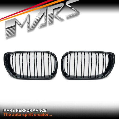 Matt Black M3 Grill Grille Bmw E46 4dr Sedan 02 05 318i
