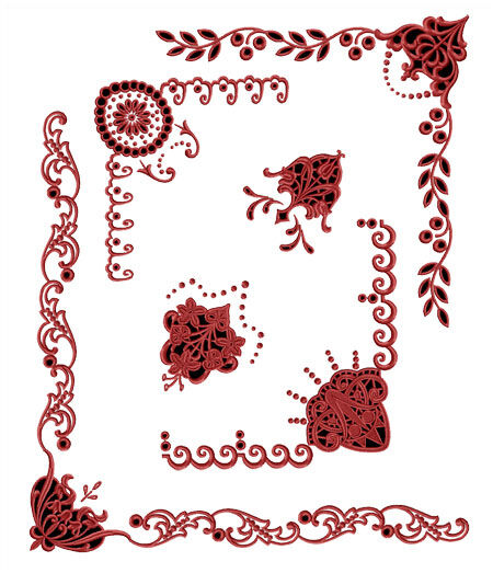 Abc designs ancient gothic cutwork machine embroidery