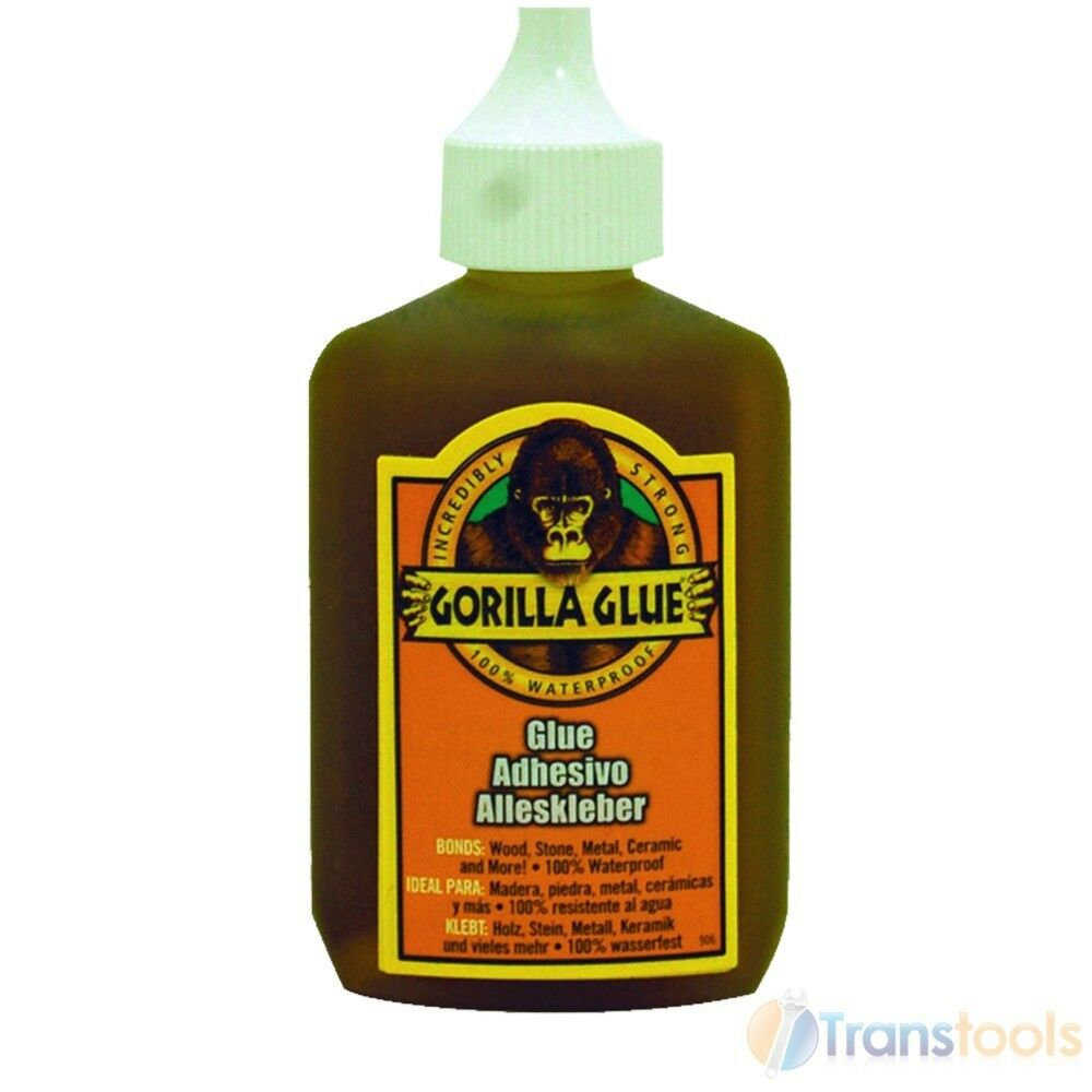 Gorilla Glue For Use With Wood Stone Metal Ceramic 60ml Ebay