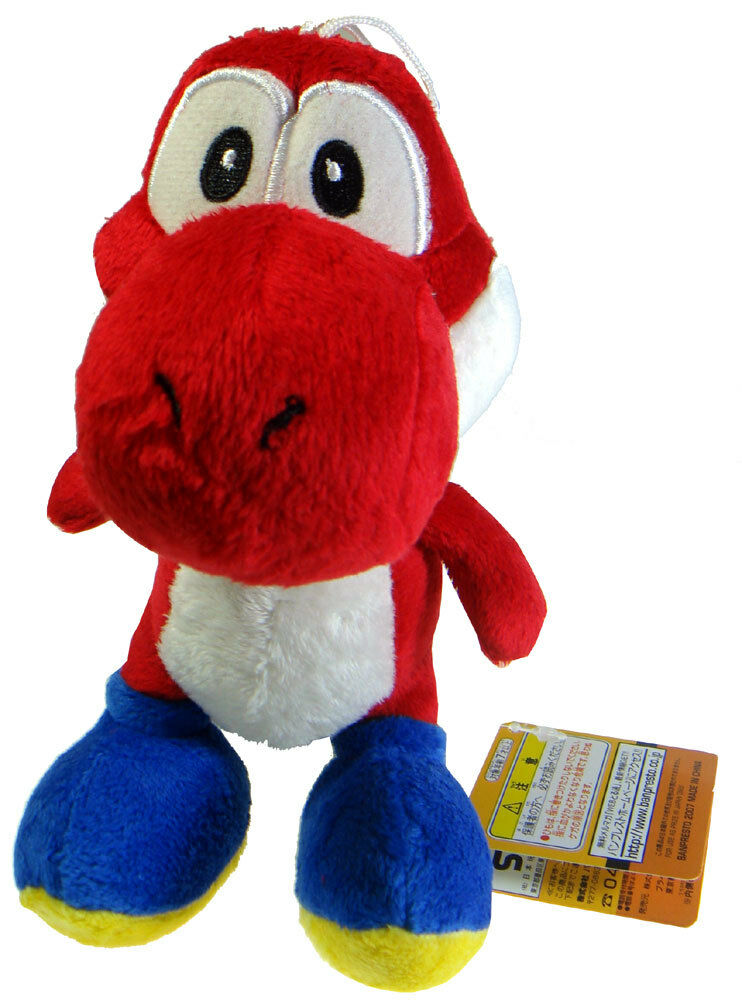 Toys For Brothers : Nintendo super mario bros red yoshi quot toy plush doll ebay