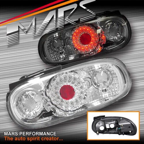 Crystal Altezza LED Tail Lights For MAZDA MX-5 NA 89-98
