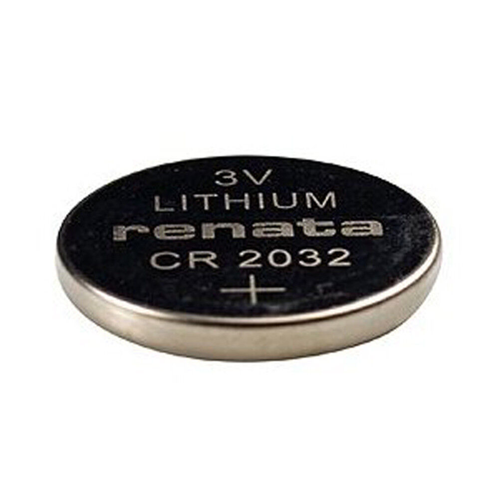 renata cr2032 cr 2032 watch lithium battery 5 pk ebay. Black Bedroom Furniture Sets. Home Design Ideas