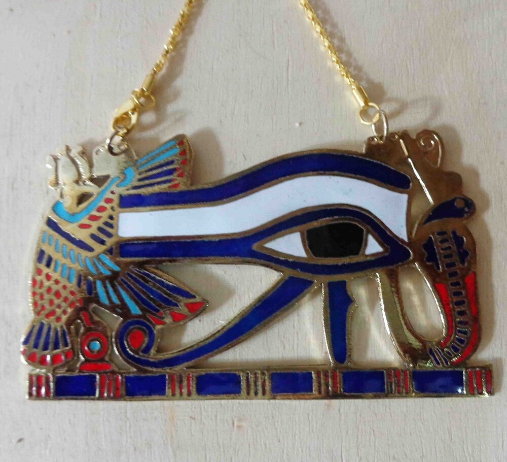 Egyptian jewelry ancient pharaoh necklace horus eye isis for Egyptian jewelry