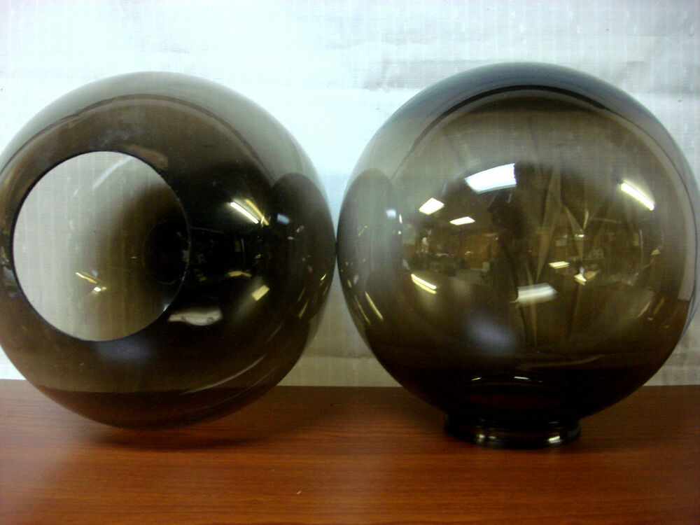 10 Quot Smoke Round Globe Light Fixture Outdoor Indoor Lamp