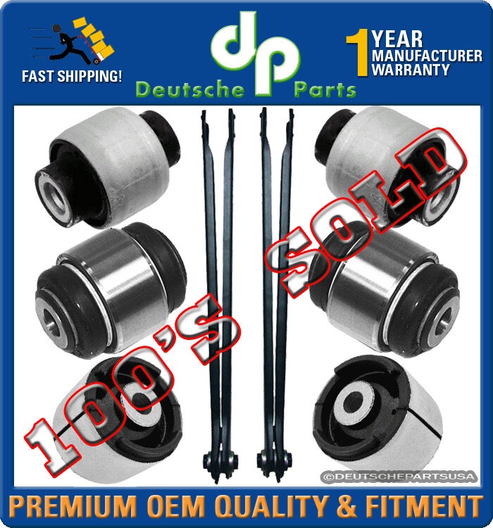 rear axle trailing control arms bushings suspension for. Black Bedroom Furniture Sets. Home Design Ideas