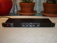 Ashly SC-20/18, 2 Way Electronic Crossover, Vintage Rack