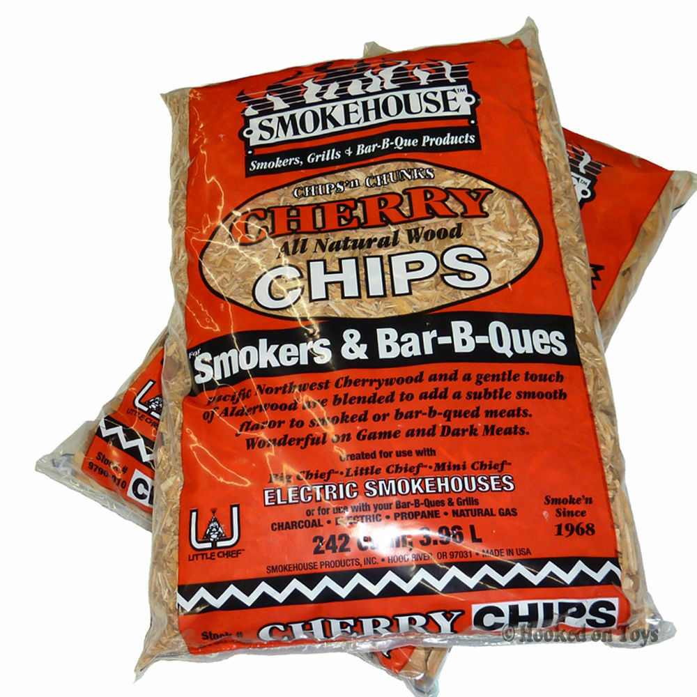 Smokehouse products inc smoker wood chips bags cherry