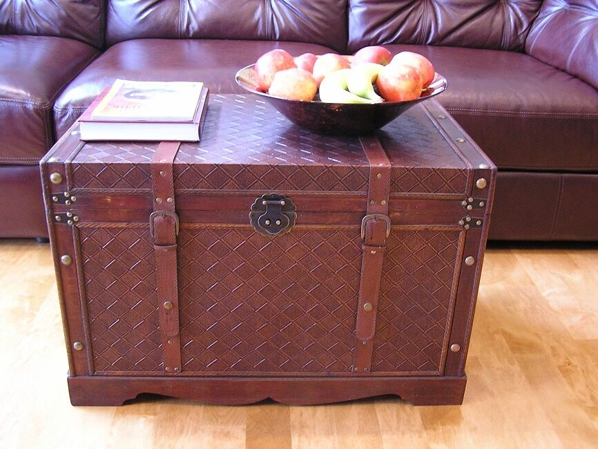 Georgetown large wood storage trunk wooden hope chest ebay