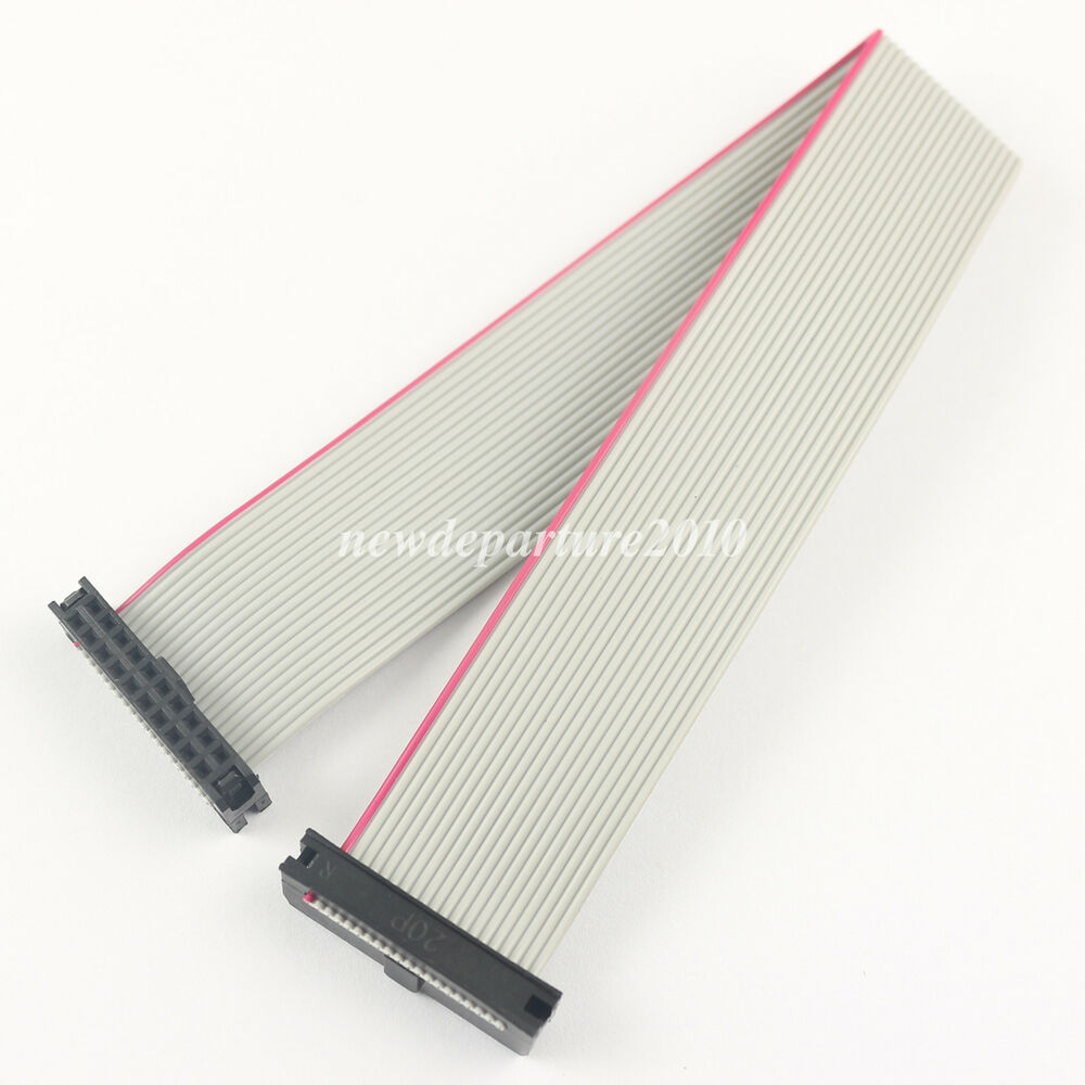 Flat Ribbon Cable : Pcs mm pitch pin wire idc flat ribbon