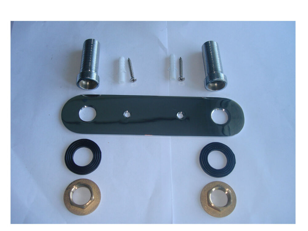 Wall Mounted Fixing Plate Kit For Shower Valve Or Taps