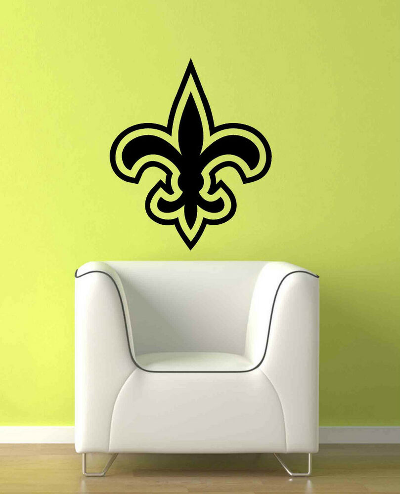 Lg New Orleans Saints Nfl Logo Wall Vinyl Decal Sticker Ebay