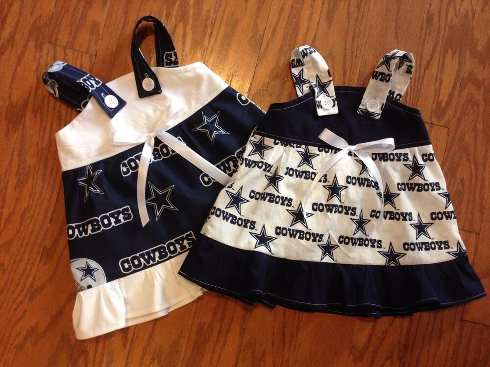 NFL Dallas Cowboys Baby Infant Toddler Girls Dress YOU