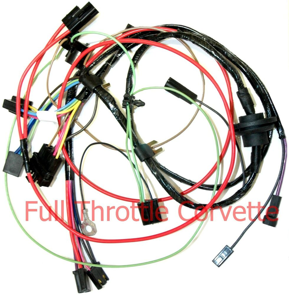 air conditioner dual capacitor wiring 1977 early corvette air conditioning ac wiring harness | ebay #15