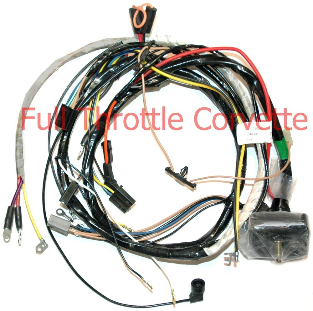 1973 Corvette Engine Wiring Harness Manual Big Block
