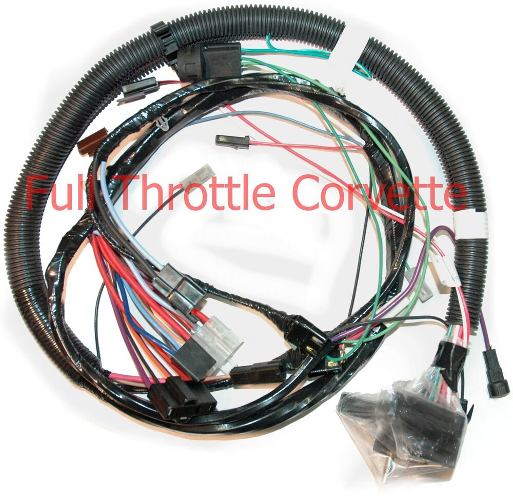 1981 Corvette Engine Wiring Harness W   Automatic Trans